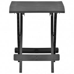 Sonata Сгъваема градинска маса, антрацит, 45x43x50 см, пластмаса - Градински маси