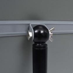Sonata A4 постер борд на стойка, черен, алуминиева сплав - Обзавеждане на Бизнес обекти