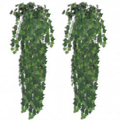 Sonata Изкуствени храсти бръшлян, 4 бр, зелени, 90 см - Изкуствени цветя