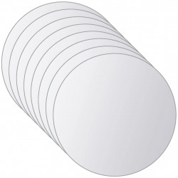 Sonata Огледални плочки, 16 бр, кръгло стъкло - Декорация