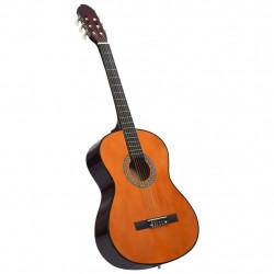 """Sonata Класическа китара за начинаещи, 4/4, 39"""", липово дърво - Музикални Инструменти"""