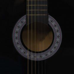 """Sonata Класическа китара за начинаещи и деца, черна, 3/4, 36"""" - Музикални Инструменти"""
