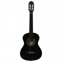 """Sonata Класическа китара за начинаещи и деца, черна, 1/2, 34"""" - Музикални Инструменти"""
