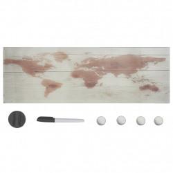 Sonata Магнитна дъска за стенен монтаж, стъкло, 60x20 см - Аксесоари