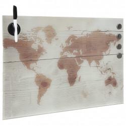Sonata Магнитна дъска за стенен монтаж, стъкло, 50x30 см - Аксесоари