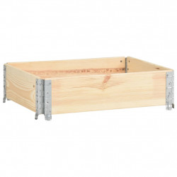 Sonata Палетна страница, 60x80 см, борова дървесина масив - Градински Дивани и Пейки
