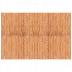 Sonata Постелки за под 6 бр дървесни шарки 2,16 м² EVA пяна - Подови настилки