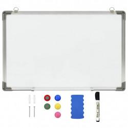 Sonata Магнитна дъска за сухо изтриване, бяла, 50x35 см, стомана - Обзавеждане на Бизнес обекти