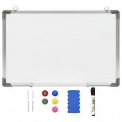 Sonata Магнитна дъска за сухо изтриване, бяла, 60x40 см, стомана - Обзавеждане на Бизнес обекти