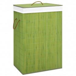 Sonata Бамбуков кош за пране, зелен, 72 л - Перални