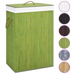 Sonata Бамбуков кош за пране, зелен - Перални