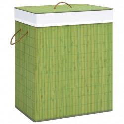 Sonata Бамбуков кош за пране, зелен, 83 л - Перални