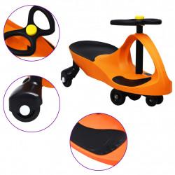 Sonata Въртяща се кола с клаксон тип играчка за яздене, оранжева - Детски превозни средства