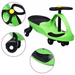Sonata Въртяща се кола с клаксон тип играчка за яздене, зелена - Детски превозни средства