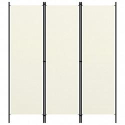 Sonata Параван за стая, 3 панела, кремавобял, 150x180 см - Аксесоари за Всекидневна