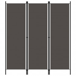 Sonata Параван за стая, 3 панела, антрацит, 150x180 см - Аксесоари за Всекидневна