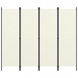 Sonata Параван за стая, 4 панела, кремавобял, 200x180 см - Аксесоари за Всекидневна
