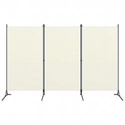Sonata Параван за стая, 3 панела, кремавобял, 260x180 см - Аксесоари за Всекидневна