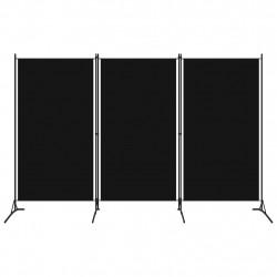 Sonata Параван за стая, 3 панела, черен, 260x180 см - Аксесоари за Всекидневна