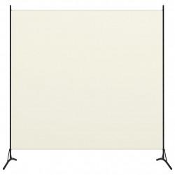Sonata Параван за стая, 1 панел, кремавобял, 175x180 см - Аксесоари за Всекидневна