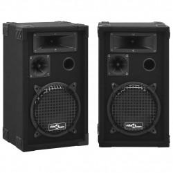 Sonata Професионални пасивни Hifi сценични тонколони 2 бр 800 W черни - Сравняване на продукти