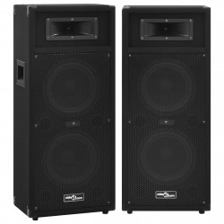 Sonata Професионални пасивни Hifi сценични тонколони 2 бр 1000 W черни - Сравняване на продукти