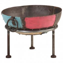 Sonata Цветно преносимо огнище в рустик стил, Ø 40 см, желязо - Камини, Комини и Печки на дърва