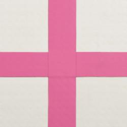 Sonata Надуваем дюшек за гимнастика с помпа, 60x100x10 см, PVC, розов - Спортни Игри