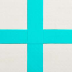 Sonata Надуваем дюшек за гимнастика с помпа, 60x100x10 см, PVC, зелен - Спортни Игри
