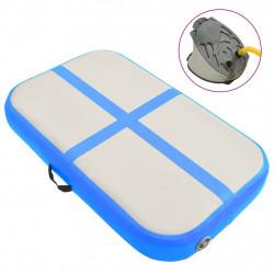 Sonata Надуваем дюшек за гимнастика с помпа, 60x100x20 см, PVC, син - Спортни Игри