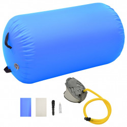 Sonata Надуваем гимнастически дюшек с помпа 100x60 см PVC син - Спортни Игри
