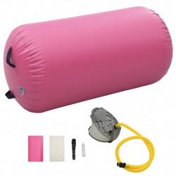 Sonata Надуваем гимнастически дюшек с помпа 120x75 см PVC розов - Спортни Игри