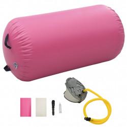 Sonata Надуваем гимнастически дюшек с помпа 120x90 см PVC розов - Спортни Игри