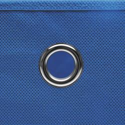 Sonata Кутии за съхранение с капаци 4 бр 28x28x28 см сини - Продукти за съхранение