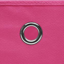 Sonata Кутии за съхранение с капаци 10 бр 28x28x28 см розови - Продукти за съхранение