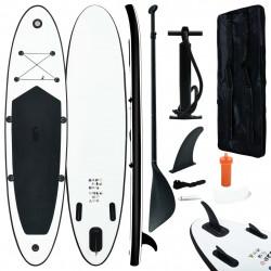 Sonata Комплект надуваем стендъп падълборд, черно и бяло - Водни спортове