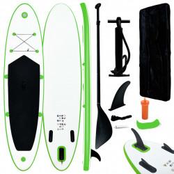 Sonata Комплект надуваем стендъп падълборд, зелено и бяло - Водни спортове