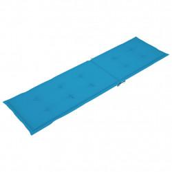 Sonata Шалте за шезлонг, синьо, (75+105)x50x4 см - Шезлонги