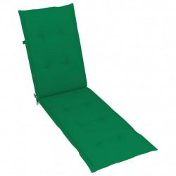 Sonata Шалте за шезлонг, зелено, (75+105)x50x4 см - Шезлонги