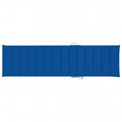 Sonata Шалте за шезлонг, кралско синьо, 200x50x4 см, текстил - Шезлонги
