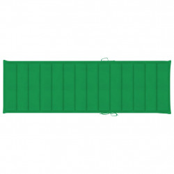 Sonata Шалте за шезлонг, зелено, 200x60x4 см, текстил - Шезлонги