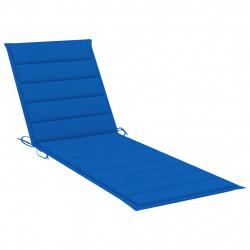 Sonata Шалте за шезлонг, кралско синьо, 200x60x4 см, текстил - Шезлонги