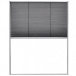 Sonata Алуминиев плисе комарник за прозорци, 100x160 см - Дограми и Комарници