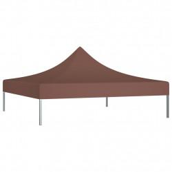 Sonata Покривало за парти шатра, 2x2 м, кафяво, 270 г/м² - Шатри и Градински бараки