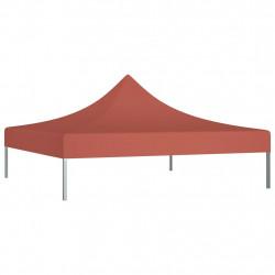 Sonata Покривало за парти шатра, 2x2 м, цвят теракота, 270 г/м² - Шатри и Градински бараки