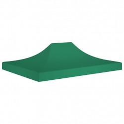 Sonata Покривало за парти шатра, 4x3 м, зелено, 270 г/м² - Шатри и Градински бараки