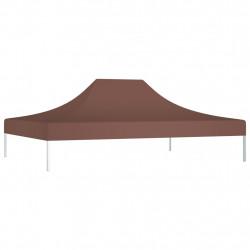 Sonata Покривало за парти шатра, 4x3 м, кафяво, 270 г/м² - Шатри и Градински бараки