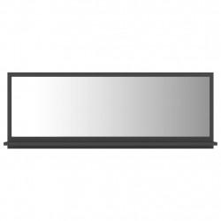 Sonata Огледало за баня, сиво, 100x10,5x37 см, ПДЧ - Шкафове за Баня