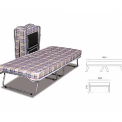 Сгъваемо легло ТЕД модел Plain New -