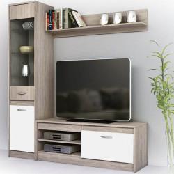 Секция Моли, бяло гладко - Комплекти Мебели